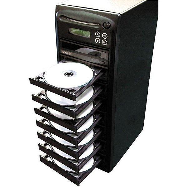 Duplicadora de DVD e Cd com 8 Gravadores Samsung