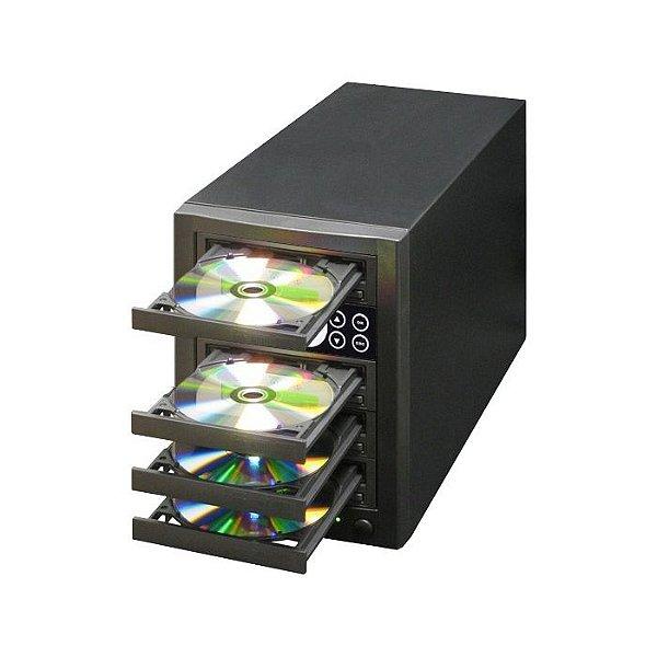 Duplicadora de DVD e Cd com 4 Gravadores Pioneer