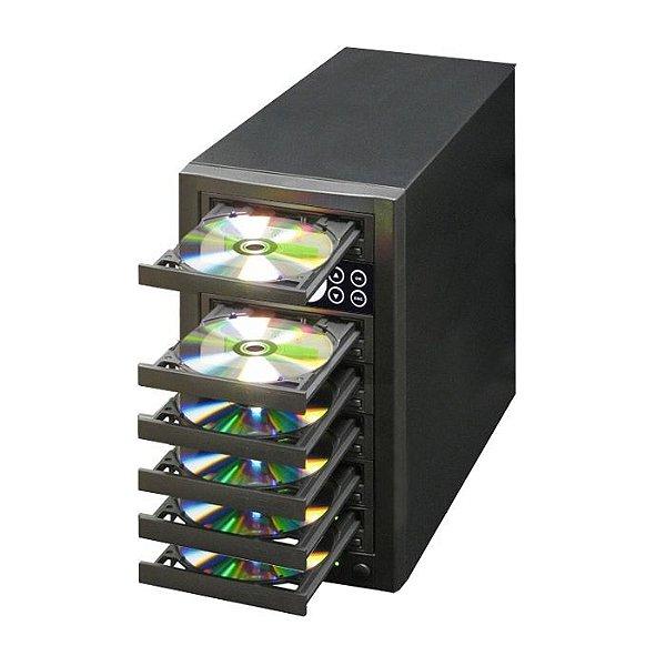 Duplicadora de DVD e Cd com 6 Gravadores Pioneer