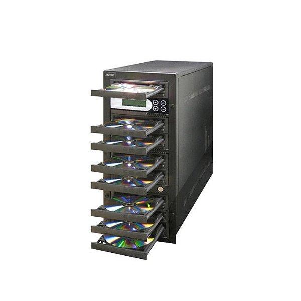 Duplicadora de DVD e Cd com 8 Gravadores Pioneer