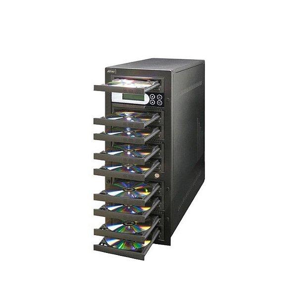 Duplicadora de DVD e Cd com 9 Gravadores Pioneer