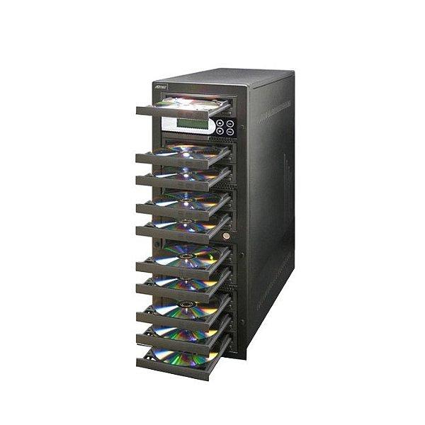 Duplicadora de DVD e Cd com 10 Gravadores Pioneer