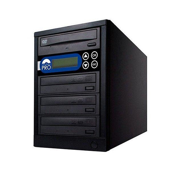 Duplicadora de DVD e CD com 4 Gravadores Sony 7280s