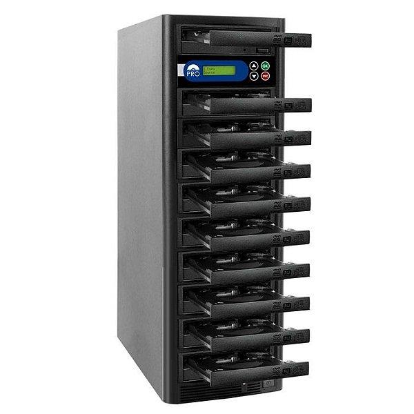 Duplicadora de DVD e CD com 10 Gravadores  Liteon  Premium Dual Layer