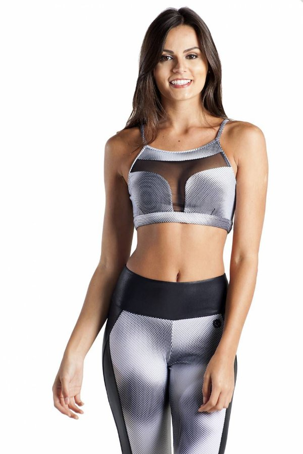 TOP FITNESS MONIQUE PIXEL PB BRO FITWEAR