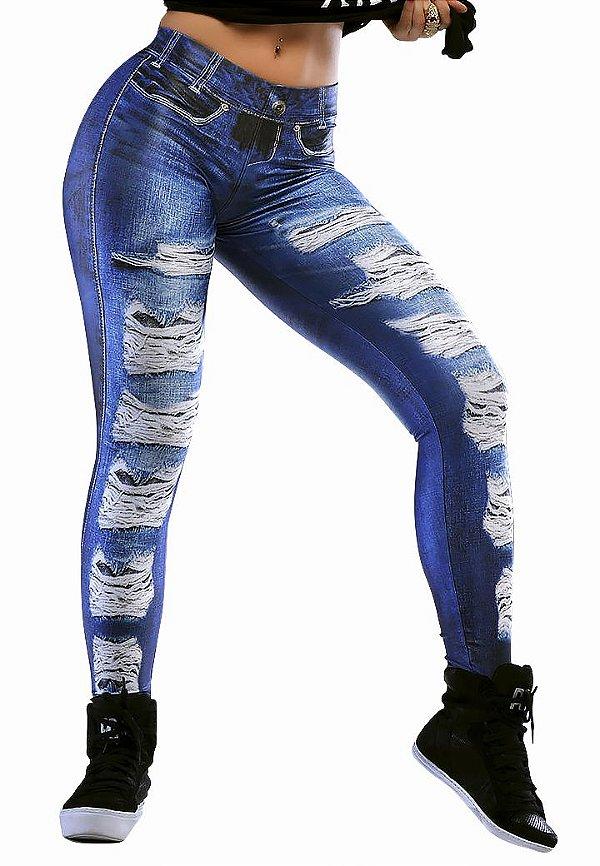 Legging Fake Jeans Lipsoul Girls
