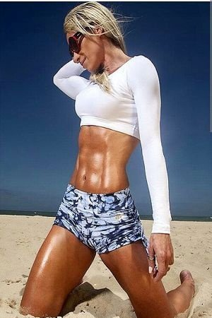 TOP FITNESS CROPPED CANOA BRANCO BRO FITWEAR