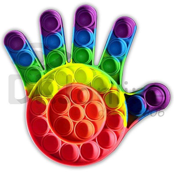 Pop It mão- brinquedo bolha sensorial anti-stress