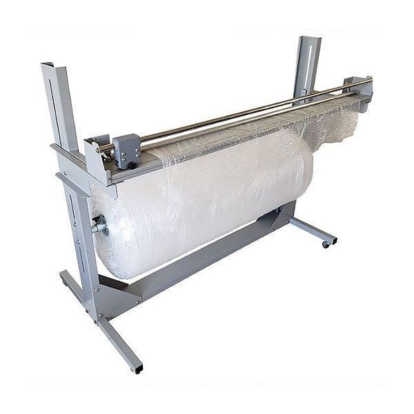 EX1500 - Refiladora / dispensador 150 cm de plástico bolha, filme e papel