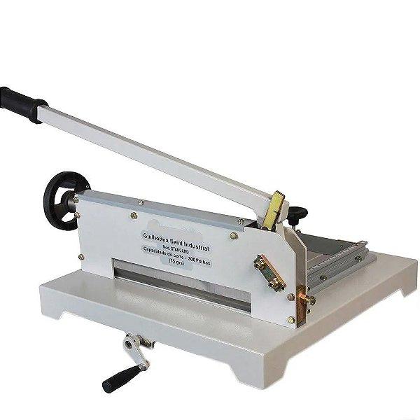 STD340 - Guilhotina semi industrial standard 34 cm 300 folhas 75 g/m²