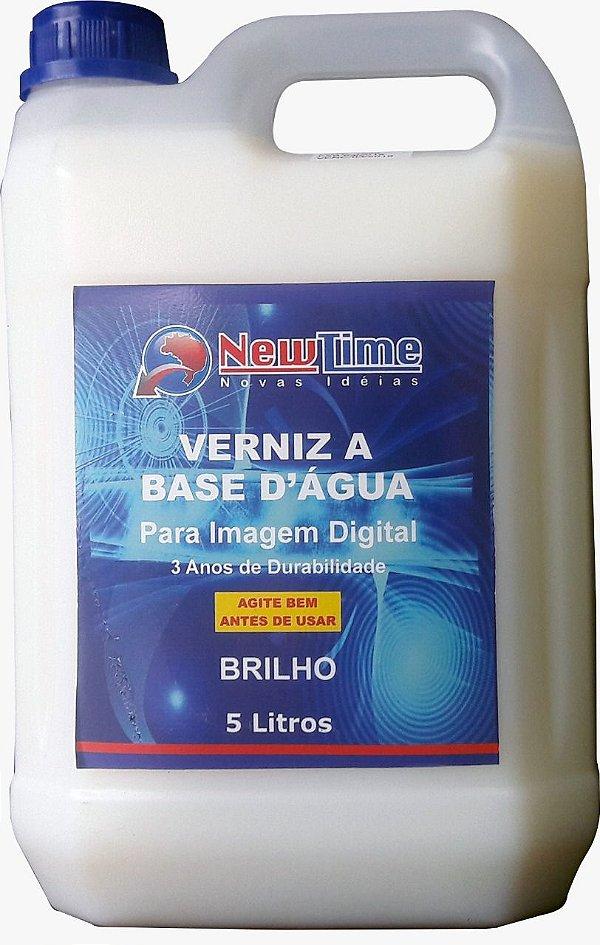 Verniz brilho 5L para impressão digital uso interno / externo 3 anos de durabilidade