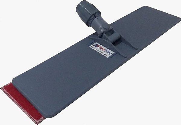 Aplicador manual de verniz / laca 43x11 cm com sistema de troca do feltro
