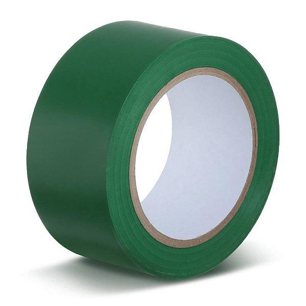 Fita para demarcação de solo verde 50 mm x 30 mt