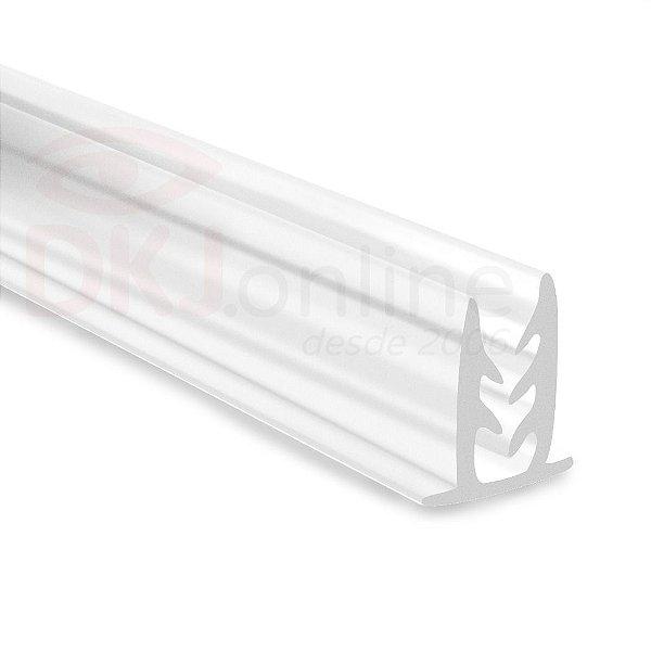 Perfil fixa placa traquitana de 30 cm a 2 metros com ou sem fita dupla face