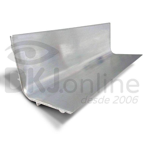 Calha 10 cm de alumínio para aplicar emulsão em matriz serigráfica