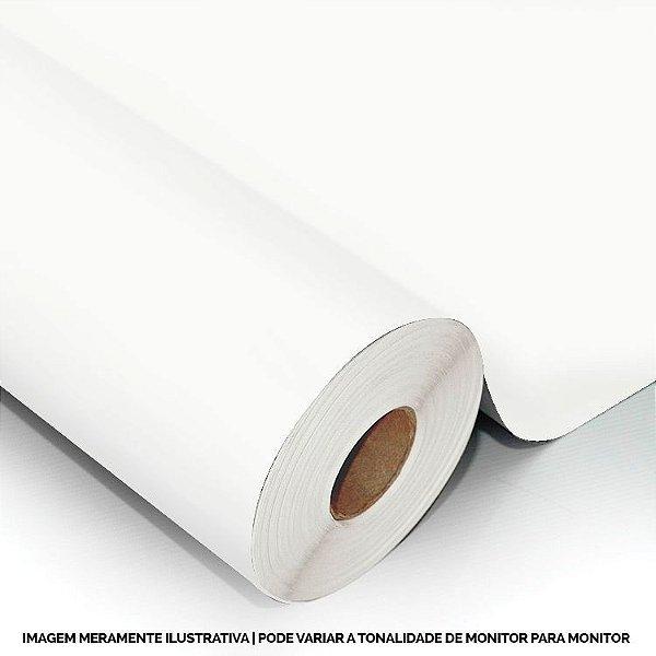Interline - Vinil adesivo polimérico branco brilho 61 cm de largura