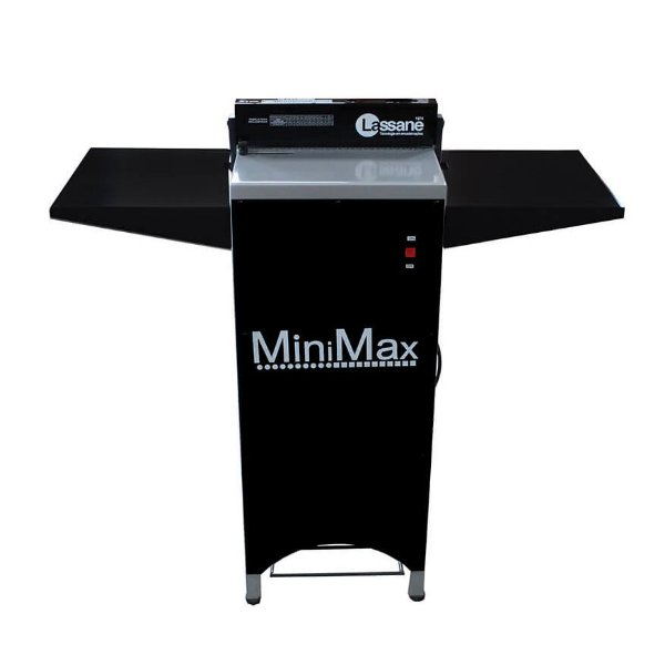 MiniMax - Perfuradora elétrica semi industrial para espiral, wire-o e fichário