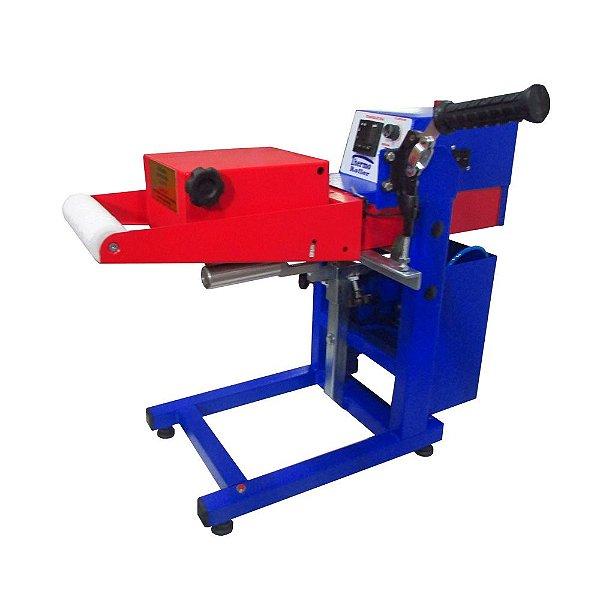Thermo roller prensa térmica de giro pneumática 220v para transfer laser