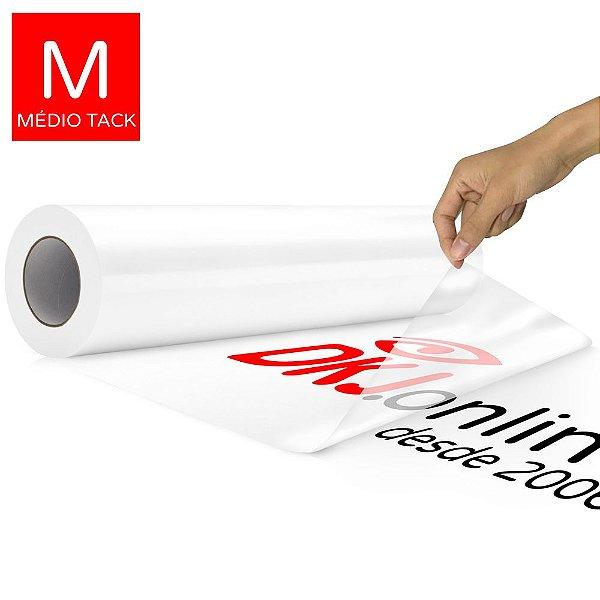 Máscara de transferência transparente 50 cm médio tack para vinil adesivo