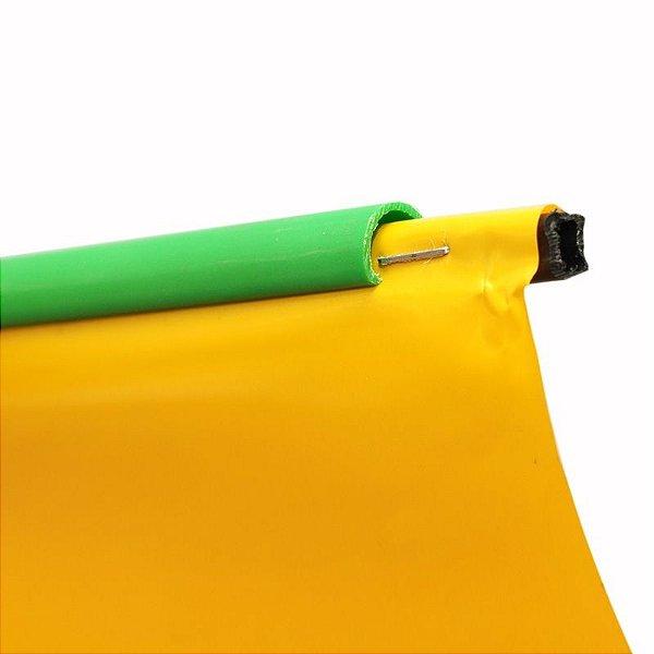 Baguete plástica para perfil c com opção de corte de 30 cm a 3 metros