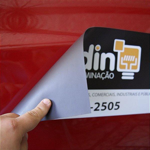 Manta magnética personalizada para carro 40x20cm 2 unidades