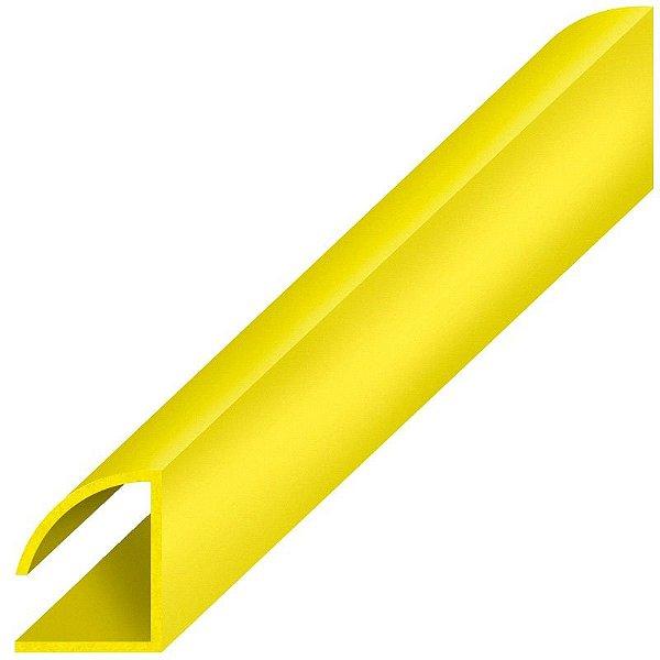 Perfil plástico trilho wire-o em PS (poliestireno)