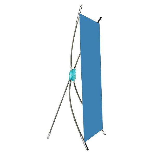 X-banner mini expositor de mesa 24 cm x 40 cm