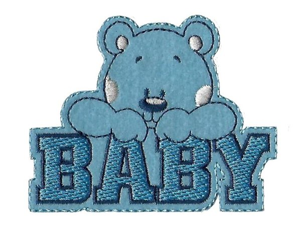 Urso Baby Azul