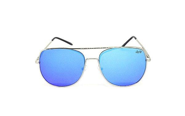 Óculos de Sol SunHot MT.003 Silver Blue
