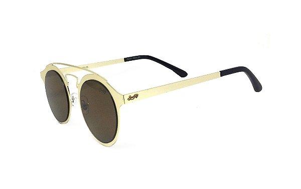 Óculos de Sol SunHot MT.007 Gold Brown