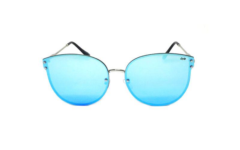 Óculos de Sol SunHot MT.011 Silver Blue