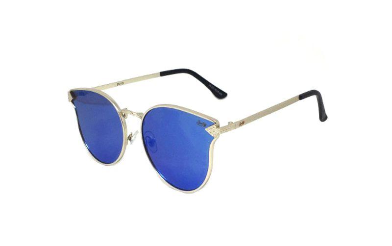 Óculos de Sol SunHot MT.008 Silver Blue