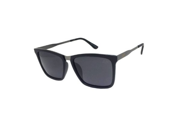 Óculos de Sol SunHot AC.027 Frosted Black POLARIZADO