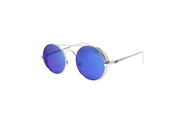 Óculos de Sol SunHot MT.012 Silver Blue
