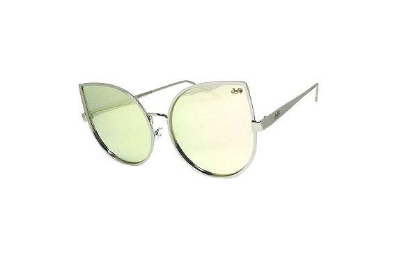 Óculos de Sol SunHot MT.013 Silver Rose