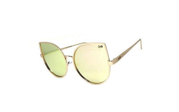 Óculos de Sol SunHot MT.013 Gold Rose
