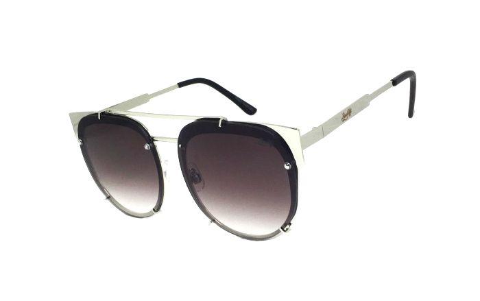 Óculos de Sol SunHot MT.014 Silver Gradient