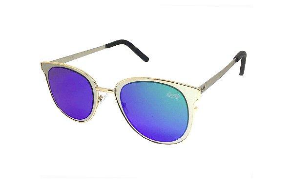 Óculos de Sol SunHot MT.016 Silver Green