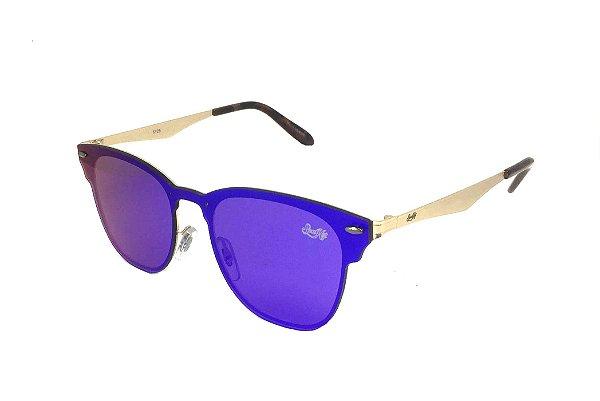 Óculos de Sol SunHot MT.019 Silver Green