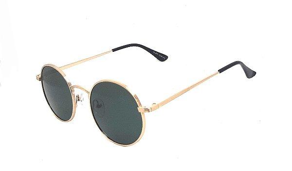 Óculos de Sol SunHot MT.020 Gold Green