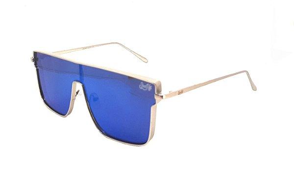 Óculos de Sol SunHot MT.021 Silver Blue