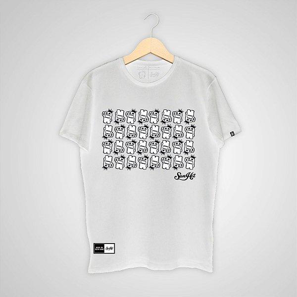 Camiseta SunHot ''Small Big Mouth'' Branca