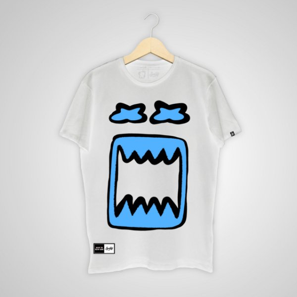 Camiseta SunHot ''Big Mouth 2.0'' Branca
