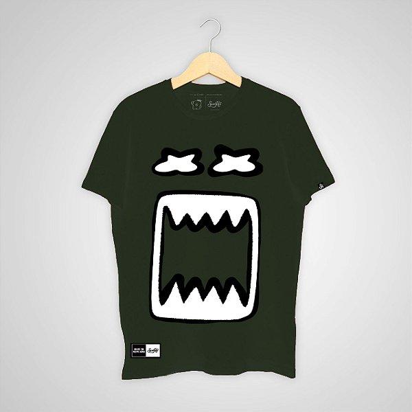 Camiseta SunHot ''Big Mouth 2.0'' Verde Militar