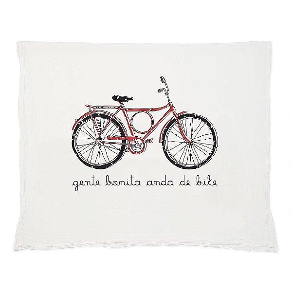 Gente Bonita Anda de Bike - Pano de Prato