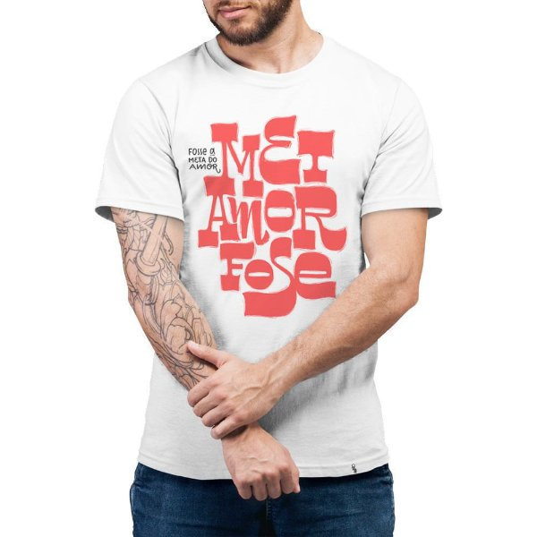 Metamorfose Fosse a Meta do Amor - Camiseta Basicona Unissex