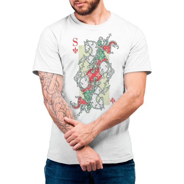 São Jorge - Camiseta Basicona Unissex