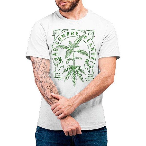 Não Compre Plante - Camiseta Basicona Unissex