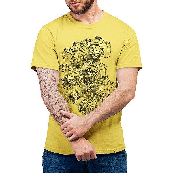 Cameras - Camiseta Basicona Unissex