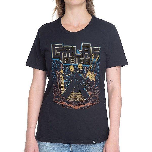 Guitar Heroes Feios - Camiseta Basicona Unissex